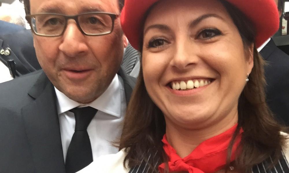 Mr le Président aime le gâteau basque Lauburu