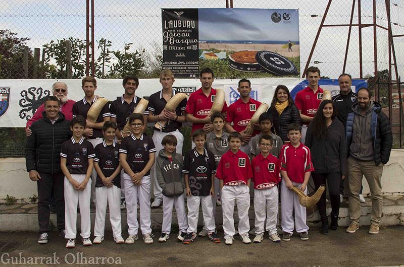 Le Tournoi de La Licorne : La pelote inter-club, entre voisins !