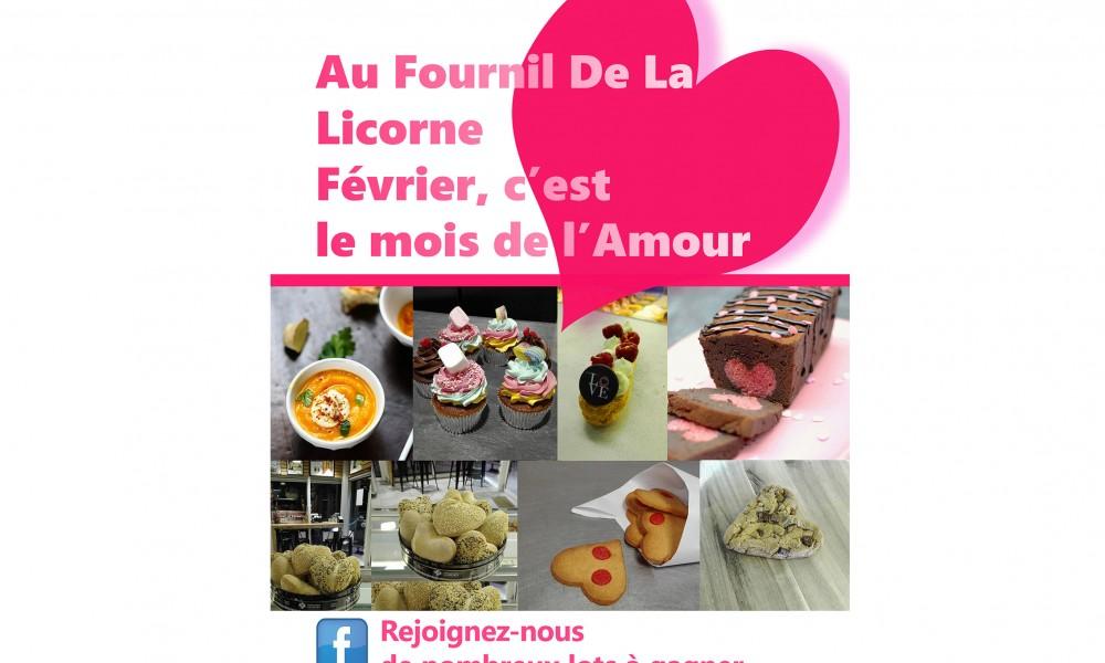 La Saint-Valentin à La Licorne